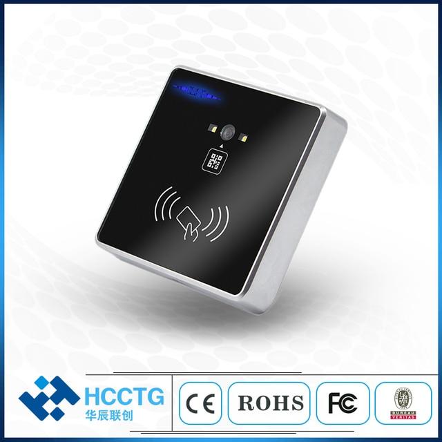 HM30 QR code + RFID access control reader RS232/USB/RS485/TTL Wiegand 3