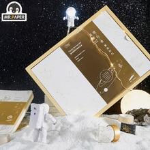 Mr. Kağıt altın gümüş damgalama yıldızlı yürüteç takımyıldızı yazısız dizüstü Washi bant USB lamba ışık öğrenci hediye mevcut paket