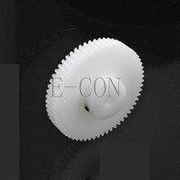 Engrenagem de 1m68t 5-11mm furo 68 dentes 1 módulo pom roda de engrenagem com parafusos superiores