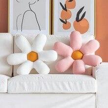 от храпа Pillow Cushion Bedside Back Alanna 0ffice 2019 Flower Cushion Petal Nordic Living Room Sofa Satijnen Kussensloop