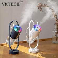 Mini USB Air Humidifier Ultrasonic Essential Oil Aroma Diffuser Mist Maker Air Moisturizer Purifier with Colorful Night Light