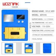 WYLIE-Plataforma de precalentamiento K85 para iPhone X/XS/MAX/11 12 PRO MAX, placa base de doble capa, herramienta de reparación de proyectores de identificación facial