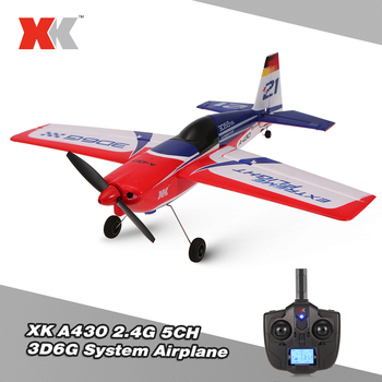 2.4G 5CH Wltoys XK A430 RC Airplane Brushless Motor 3D6G System 430mm Wingspan EPS RC Aircraft Airplane S-FHSS Model RTF