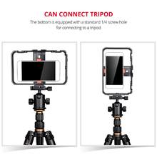 Smartphone Video Rig Handheld Filmmaking Recording Case Phone Stabilizer for Videomaker Videographer(China)