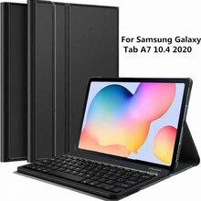 Case for Samsung Galaxy  Tab A7 10.4 2020 Keyboard Case SM-T500 SM-T505 Cover Bluetooth Keyboard