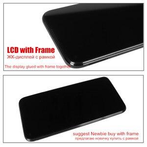 Оригинальный дисплей Raugee для Huawei P40 Lite JNY-LX1 сенсорный ЖК-экран протестированный дигитайзер Замена для P40 P 40 Lite 6,4 экран