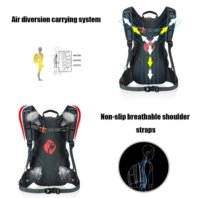 Outdoor sports  Hydration Backpack Backpack Ultralight Sport MTB Equitation of the Bicycle  Cycle Backpack water bag 3