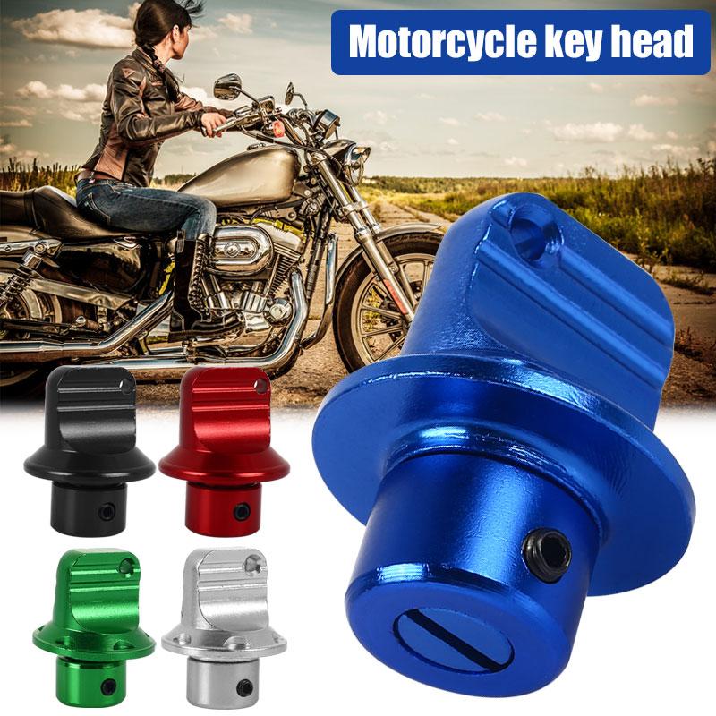 Key Head Motor Key Head Universal Motorcycle Key Head Electric Bicycle Accessories Aluminum Multicolor Durable