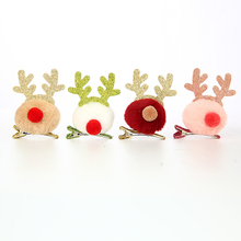 Plush-Hair Headdress-Clip/antler Party-Decorations/christmas-Head Gifts Buckle/children's
