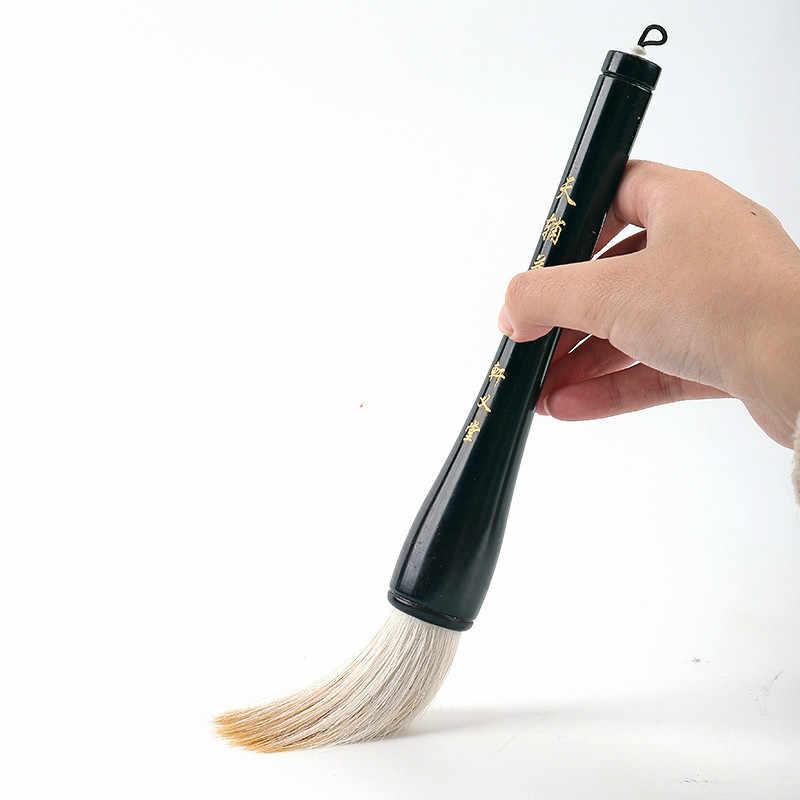 書道ブラシペン中国の伝統的なホッパー形のブラシ Caligrafia 絵画ブラシペンイタチウール複数毛