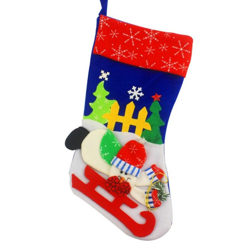 US $2.03 17% OFF Adorable Christmas Stockings Xmas Gift Socks Children Gift  Candy Bag Christmas Tree Ornament-in Stockings & Gift Holders from Home &  ...