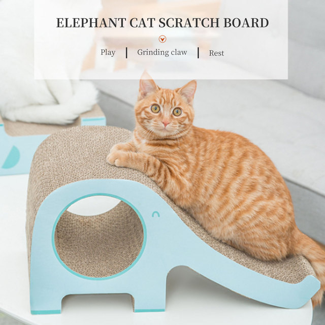 Cat Scratcher Sofa Furniture Scratching Protection Beds and House Climbing With a Corrugated Bridges Claw Accessories for Cats 5