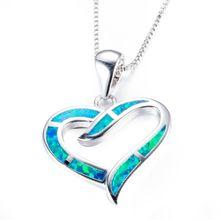 Fdlk Новое модное роскошное ожерелье из сплава в форме сердца