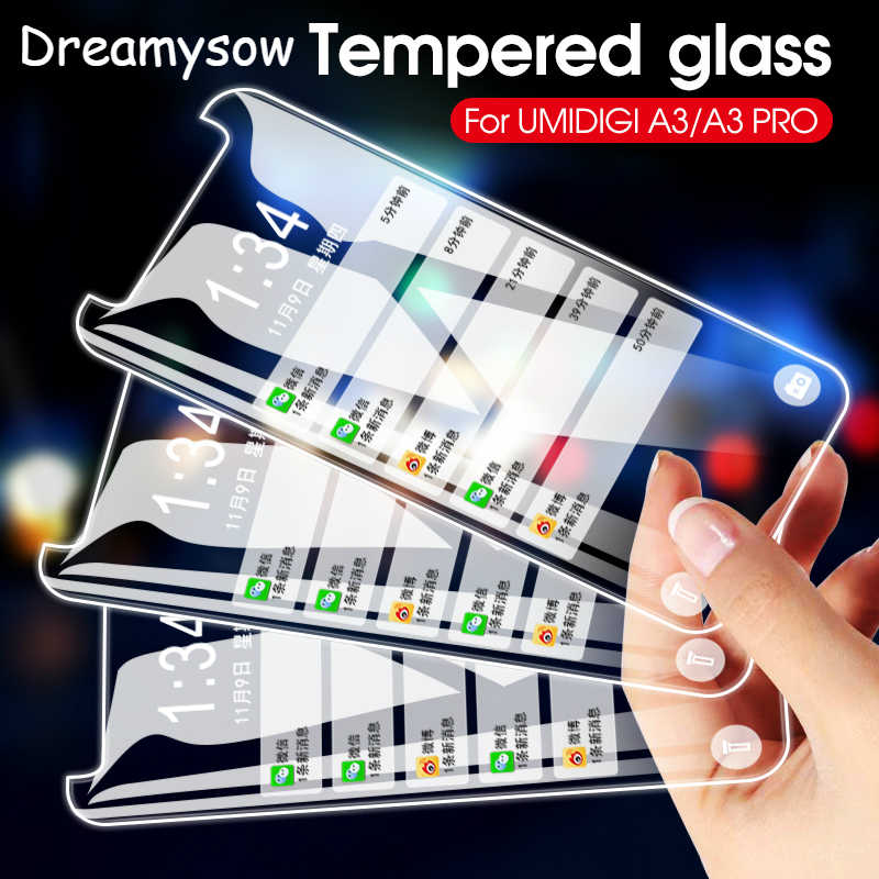 Front Film For UMIDIGI A3 S3 A5 Z2 S2 Z F1 One Max S2 Lite A1 Pro Tempered Glass Protective Glass For UMIDIGI A3 F1 One Max S2