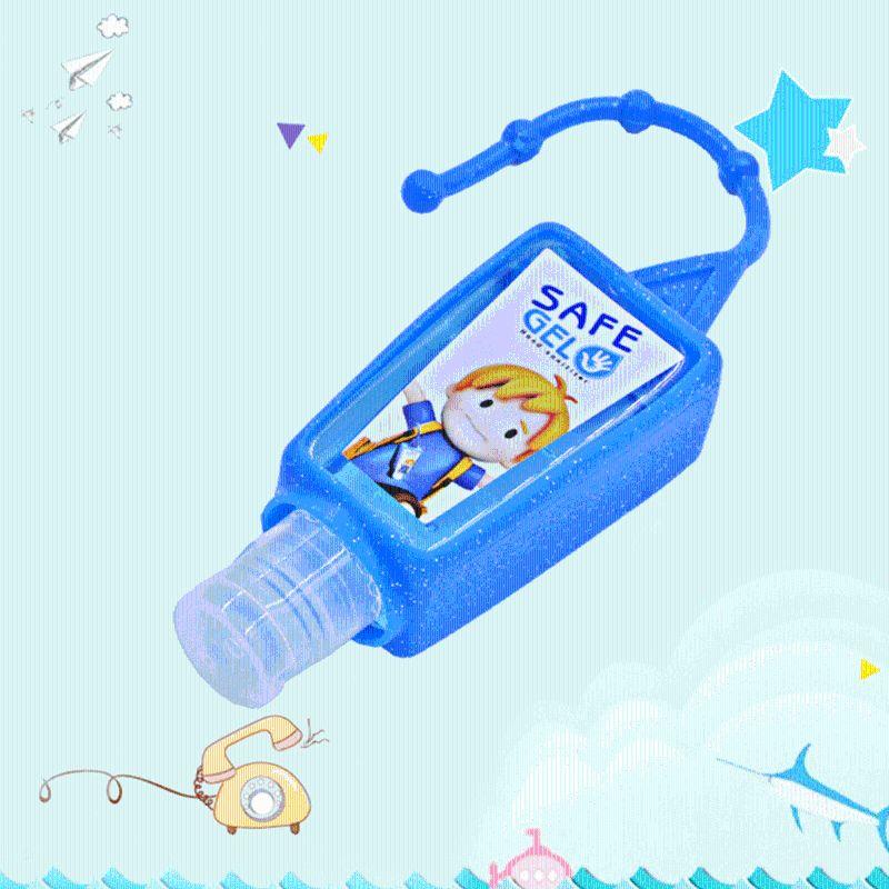 30ML 30ML Random Color Reusable Mini Hand Sanitizer Fruit Scented Disposable No Clean Travel Portable Clean Moisturizing Safe
