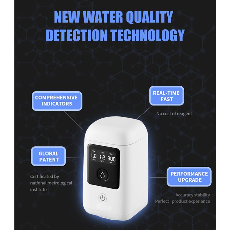 2020 New Water Quality Detector TDS/TOC/COD Testing Drinking Water Bacteria Test Tool