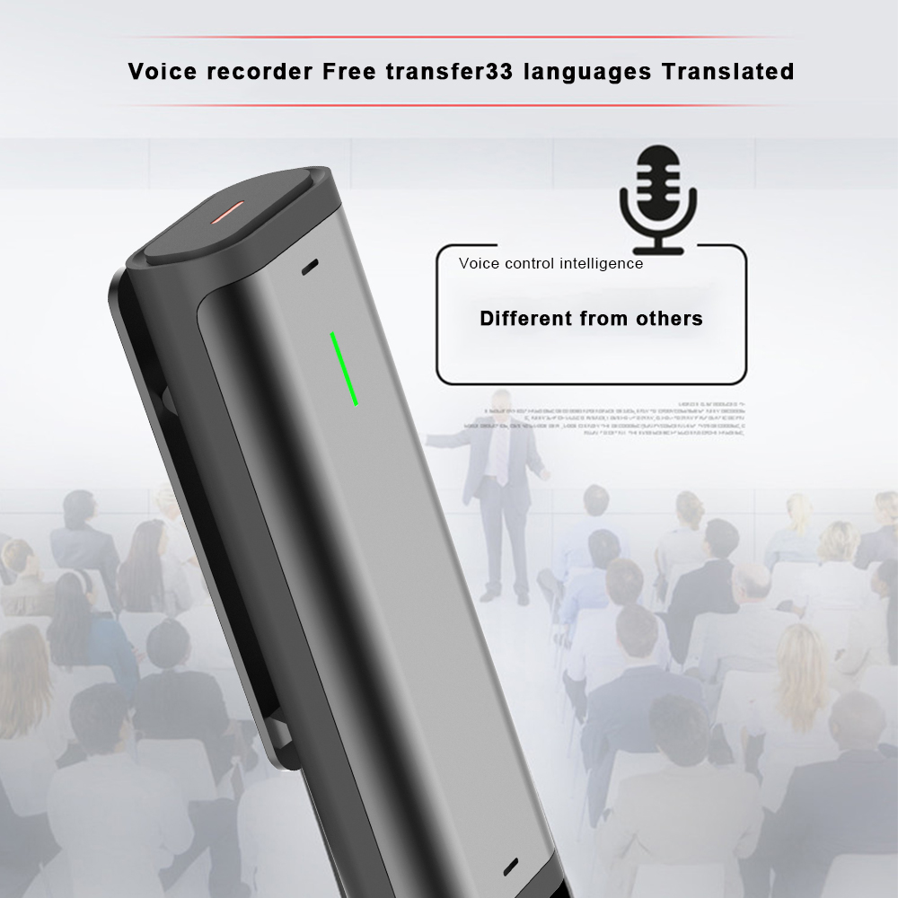 Voice Recorder Sogou Digital Intelligent Microphone Portable Professional HD Noise Reduction Recorder Pen translator for Meeting - 2