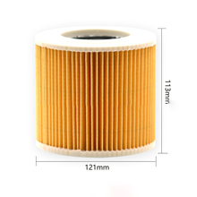 3Pcs Filter Elements Supplies Vacuum cleaner Replace For Karcher WD2 WD3 Premium High quality все цены