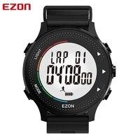 EZON-relojes deportivos digitales T045 para hombre, con Monitor de ritmo cardíaco, sueño, podómetro, resistente al agua, para exteriores