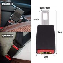 Universal Car Seat Belts Safety Belt Webbing Extender Seatbelt Extension Buckle Clip Seat Belt Padding Extender Auto Accessories