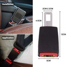Universal cintos de segurança do carro cinto de segurança webbing extensor cinto de segurança extensão fivela clipe cinto de assento estofamento extensor acessórios automóveis