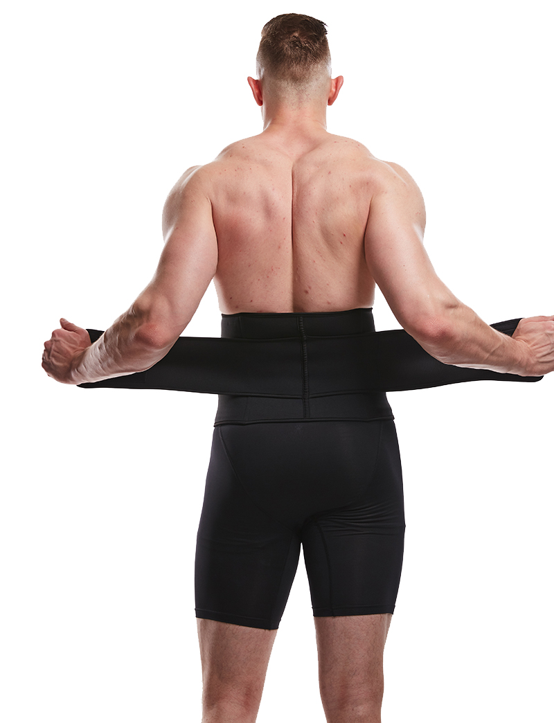 LANFEI Men's Neoprene Thermo Body Shaper Waist Trainer 23