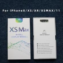 JK AAA +++ สำหรับiPhone X XR XS XSMAX 11 LCD OLED 3D Touch Digitizer Assemblyไม่มีDead Pixelหน้าจอLCDเปลี่ยนจอแสดงผล