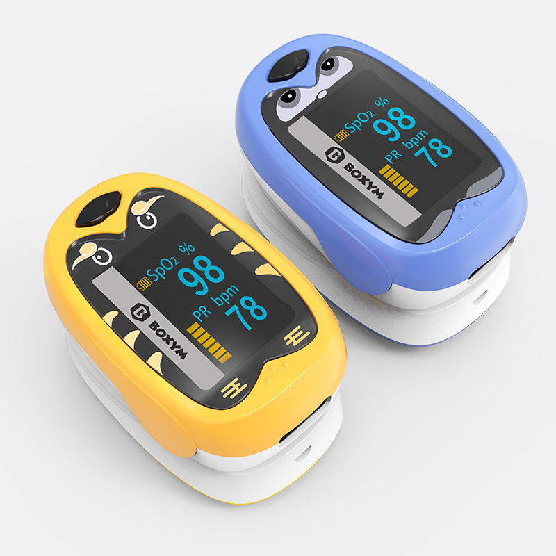 BOXYM Baby Finger Pulse Oximeter Pediatric Oximetro De Dedo SpO2 PR OLED Rechargeable Children kids Pulsioximetro| | - AliExpress