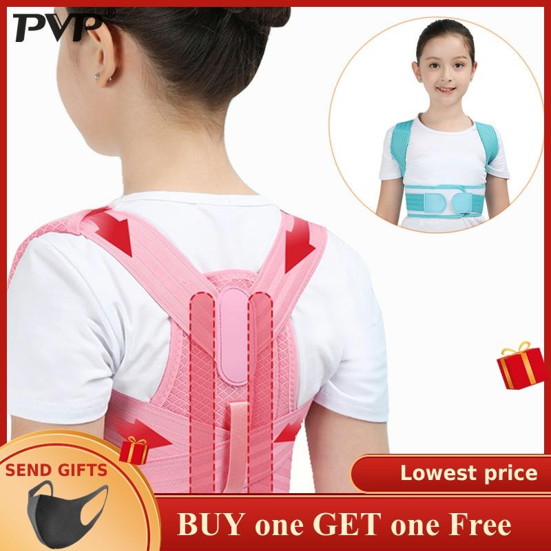 Adjustable Children Posture Corrector Back Support Belt Kids Orthopedic Corset For Kids Spine Back Lumbar Shoulder Braces Health