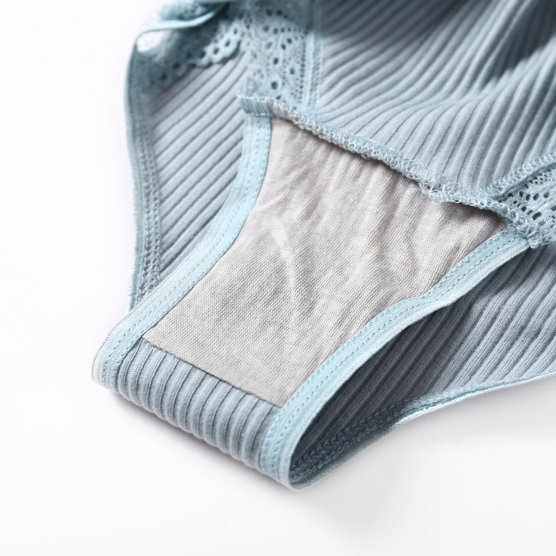 Fashion Ruffles Cotton Briefs Lace Panties Comfort Panties Sexy Lingerie Underwear Panties 2020