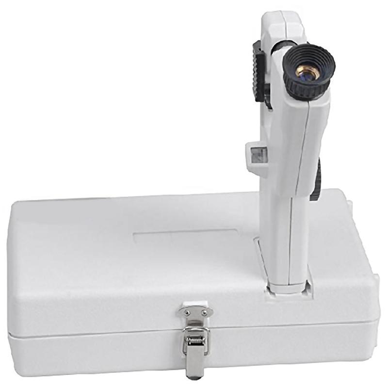 HHO-Portable Lensmeter Handheld Focimeter Optical Lensometer AA Battery Powered