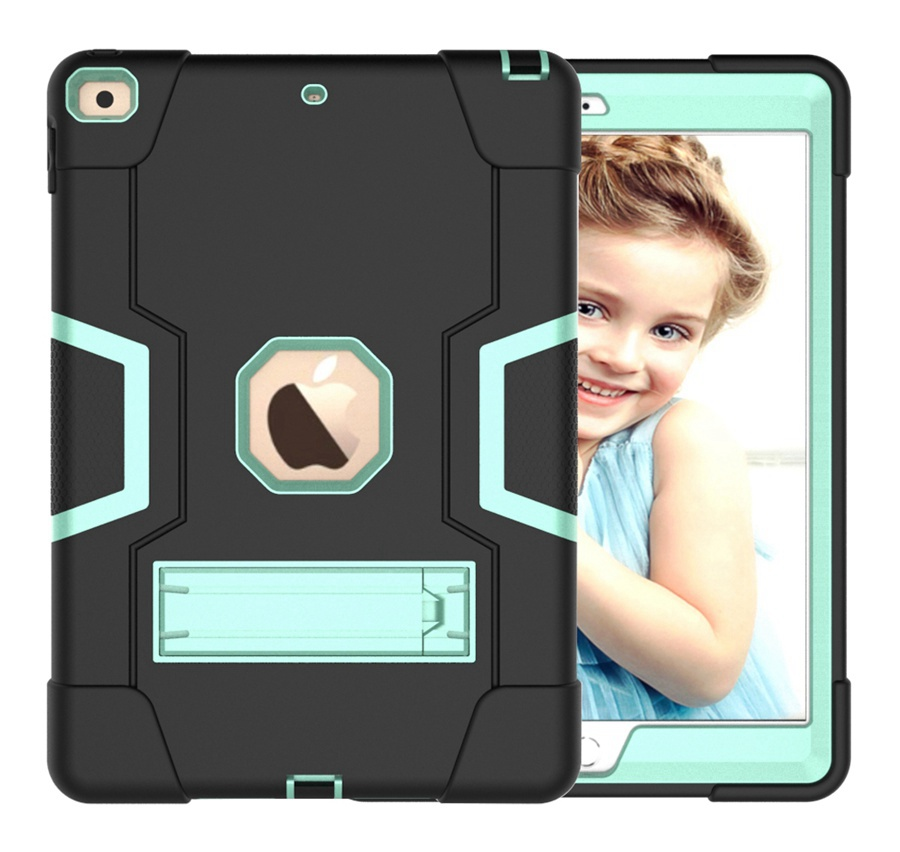 BA Yellow Baby Safe Heavy Duty Silicone Case For Apple iPad 10 2 2020 iPad 7 8th Generation