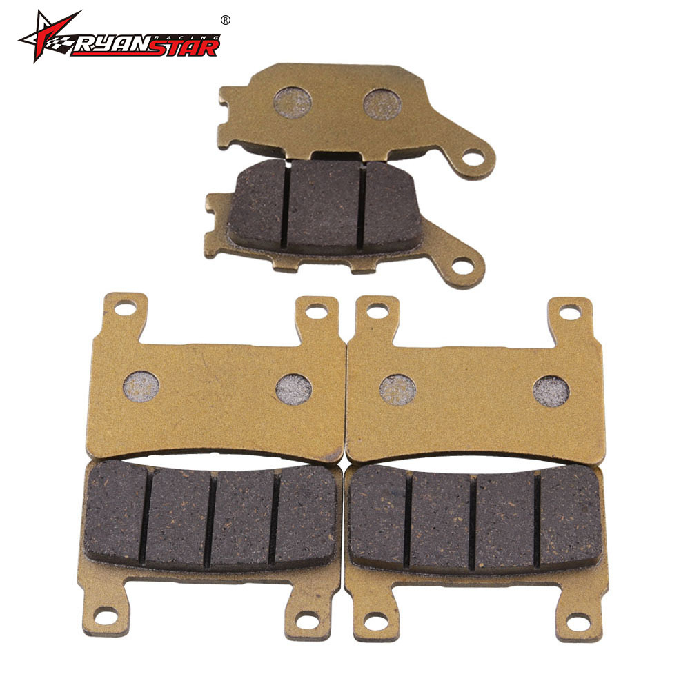 Manufacturers Direct Selling Motorcycle Accessory Brake-shoe Suitable For CBR 600 F4 F4i Front And Back Disc Brakes 6 Pieces