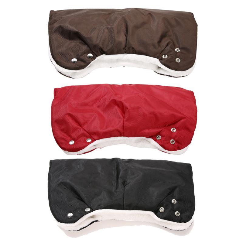 Baby Stroller Warmer Gloves Pushchair Hand Muff Buggy Clutch Stroller Cart Pram Glove Winter Gloves For Mother