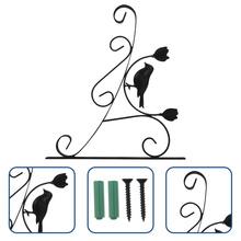 Uchwyt ścienny roślin uchwyt wiszący hak kryty roślina na zewnątrz stojak na donicę (czarny) tanie tanio CN (pochodzenie) plant hanging hook iron plant hanger iron wall hooks plant hanging bracket metal lantern hooks