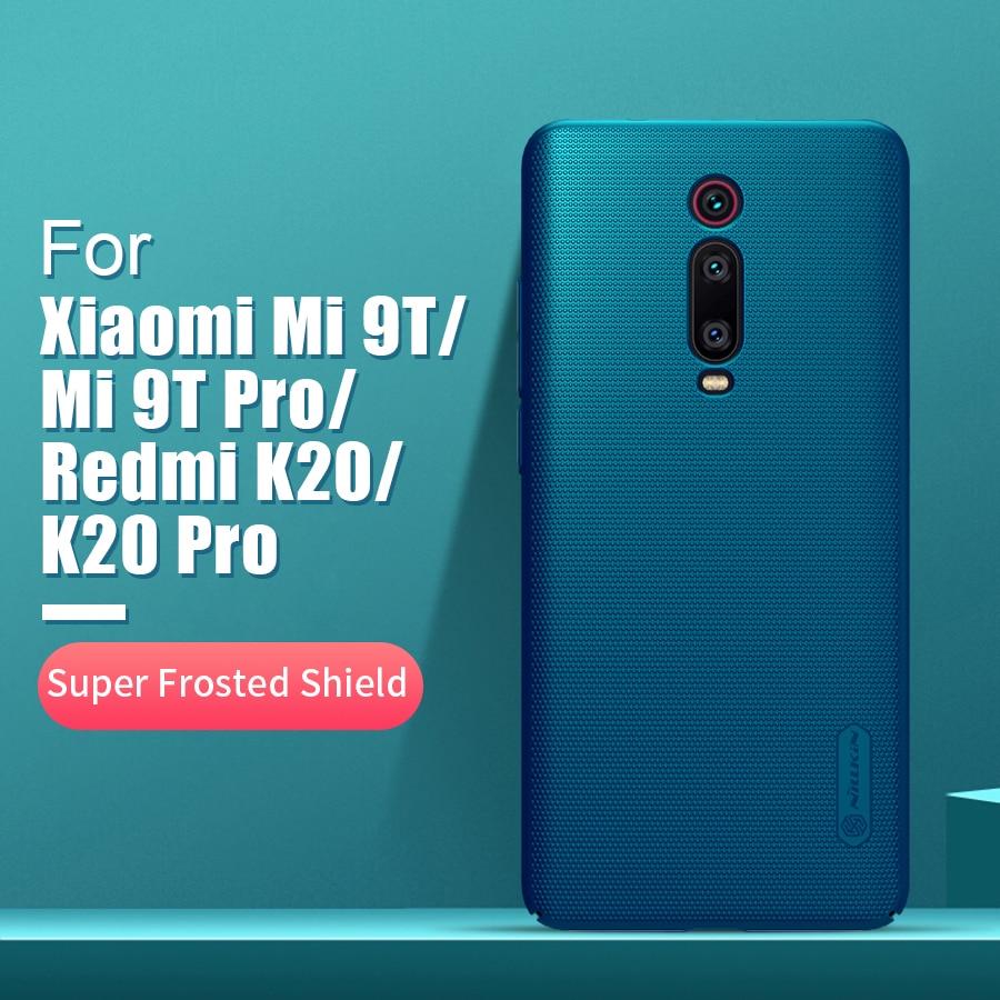 Für xiaomi redmi k20 pro fall abdeckung 6,39 NILLKIN Frosted PC Matte zurück abdeckung Telefon Halter redmi K20 Für xiaomi mi 9T 9T Pro Fall