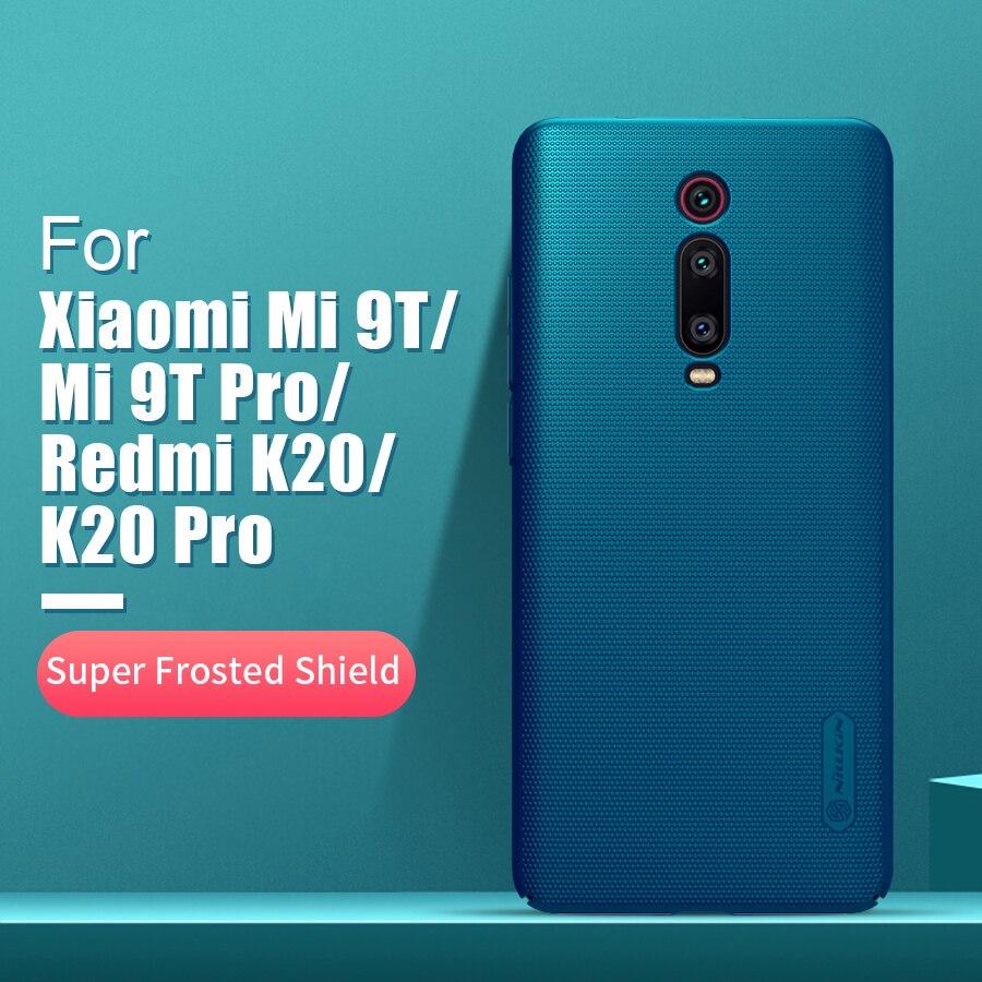 For xiaomi redmi k20 pro case cover 6.39 NILLKIN Frosted PC Matte back cover Phone Holder Redmi K20 For xiaomi Mi 9T 9T Pro Case