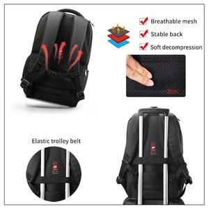 Image 3 - Tigernu marque Anti vol 15.6 pouces hommes ordinateurs portables dentreprise sac à dos USB Charge hommes Mochila sac à dos étanche sac décole pour les adolescents