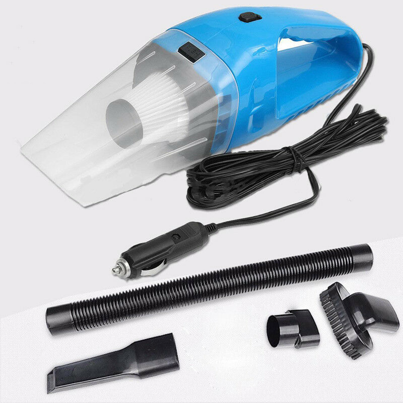 Auto Vacuum Cleaner Portable Connect Wih Car Mini Handheld Vacuum Cleaner Wet Dry Dual Use Dust Collector Aspirateur DC 12V 120W