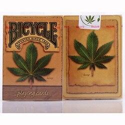 Cartões de poker da categoria mágica dos cartões de jogo da plataforma do cânhamo para o mágico profissional