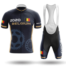 Belgium Pro Cycling Jersey Set Summer Cycling Wear Mountain Bike Clothes Bicycle Clothing MTB Bike Cycling Clothing Cycling Suit cheap FLANDRIA 100 Polyester Short Sleeve Factory Direct Sales 80 Polyester and 20 Stretch Spandex GEL Breathable Pad Full
