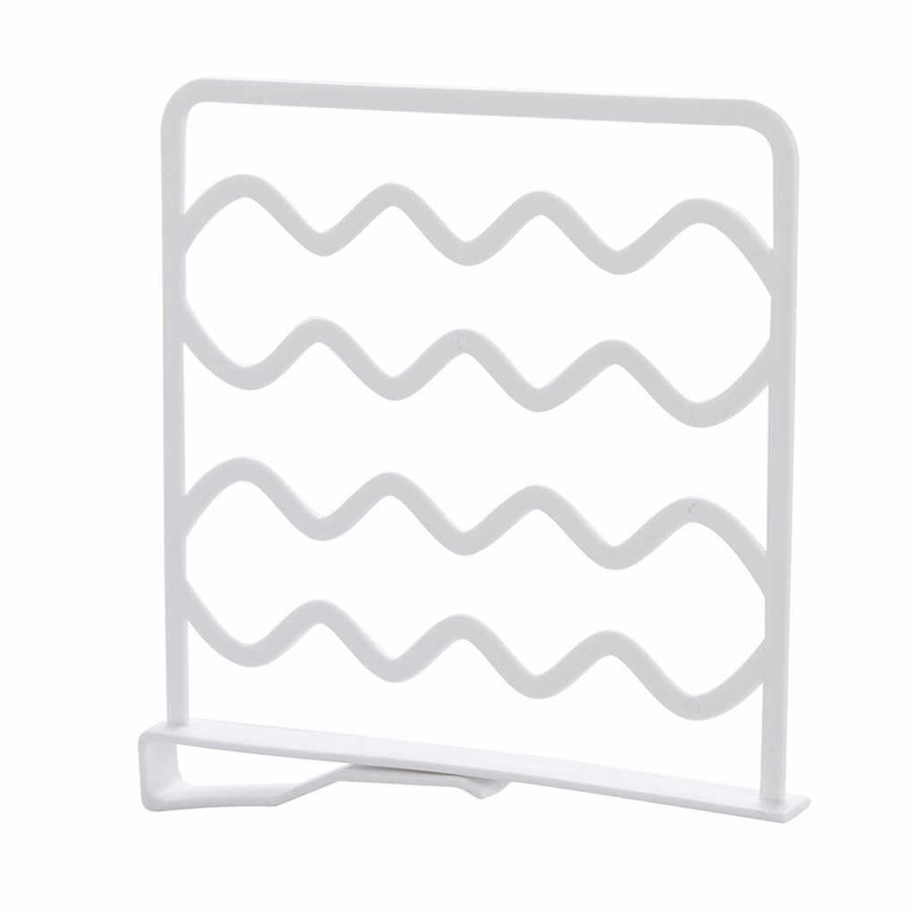 Blanco sin Perforaciones Resistente ba/ño retr/áctil 29-46cm SDYDAY Estante Separador de Armario Ajustable Montaje de Pared para el hogar Cocina Organizador de Armario