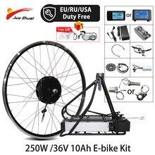 250W 36v kit bici elettrica 36V 10ah batteria portapacchi posteriore 20 26 27.5 28 pollici 700C kit non definito motore e-bike electrico bicicleta