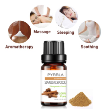 Pyrrla 10ml Sandalwood Pure Essential Oils For Aromatherapy