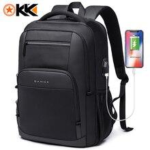 KAKA Новый Большой Вместительный 15,6 дюймовый Повседневный школьный рюкзак Многофункциональный USB зарядный мужской рюкзак для ноутбука Для Подростка