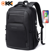 KAKA New Large Capacity 15.6 inch Daily School Backpack Multifunctional USB Charging Man Laptop Backpack for Teenager