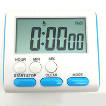 24 Hours ABS Magnetic LCD Count Up Kitchen Cook Timer Alarm Tool Digital Clock(China)