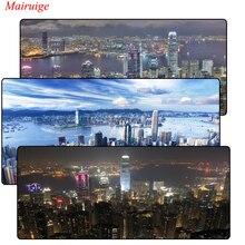 Hong Kong Large Gaming Mouse Pad Gamer Locking Edge Keyboard Mat Grande Mousepad for CS GO LOL Dota Game