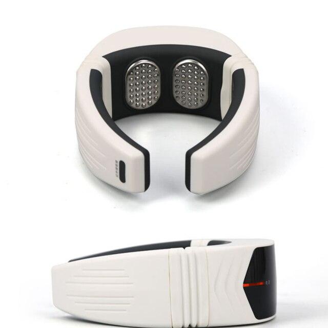 Умный массажный инструмент для шеи с ЖК экраном беспроводной