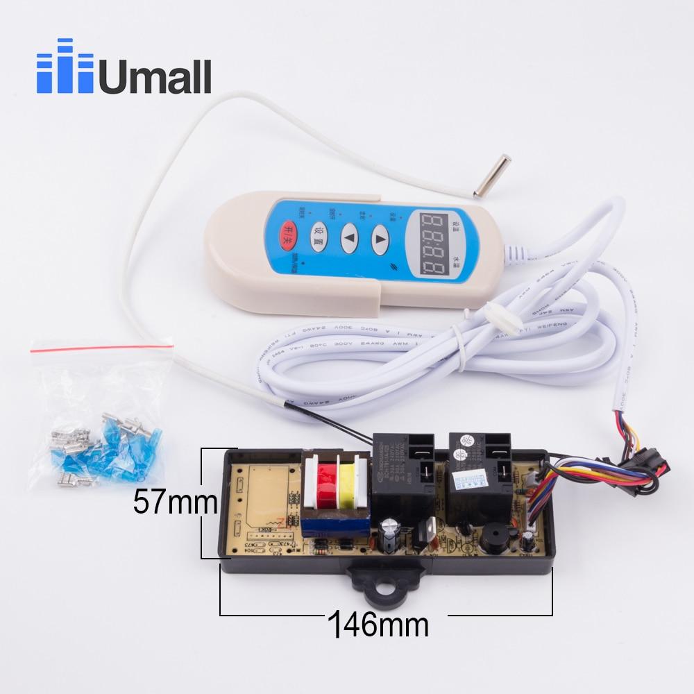 Электрический водонагреватель универсальный контроллер 4 пуговицы цифровой руководство температура computor плиты модифицированная Панель